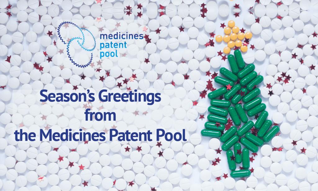 Le Medicines Patent Pool place les personnes au cœur de son travail et de sa mission de santé publique – Message de fin d'année de Charles Gore