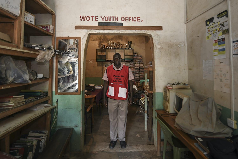 <p>Peter Ngo'la Owiti, Wote Youth Development Projects office, Kenya</p>